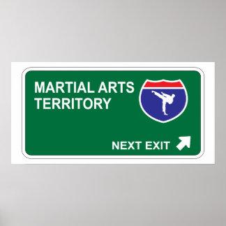 Martial Arts Next Exit Poster