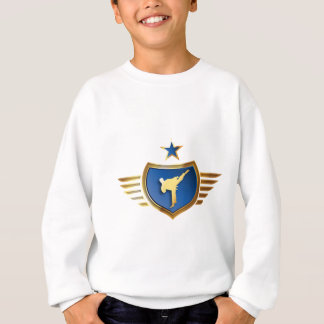 martially kind fighter carats kung fu kickboxing sweatshirt