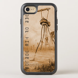 Martians With Gas Guns War Of The Worlds OtterBox Symmetry iPhone 8/7 Case