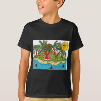 Martin and the desert island paradise T-Shirt