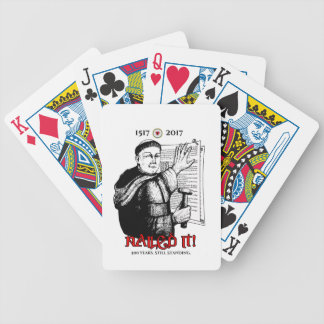 Martin Luther Nailed It! Bicycle Playing Cards