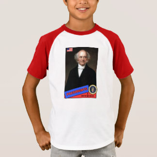 Martin Van Buren Baseball Card T-Shirt