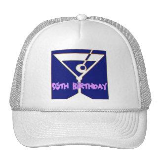 Martini 95th Birthday Gifts Cap