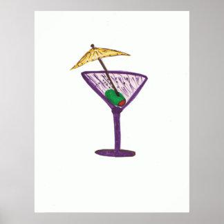 Martini Bachelorette/bachelorette Party gifts Poster