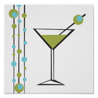 Martini Bar Poster