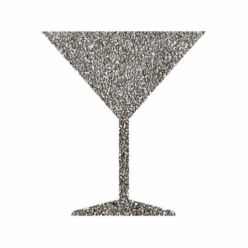 Martini Glass 3D Ornament Photo Cutouts