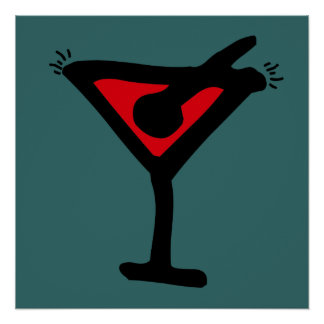 Martini Glass poster
