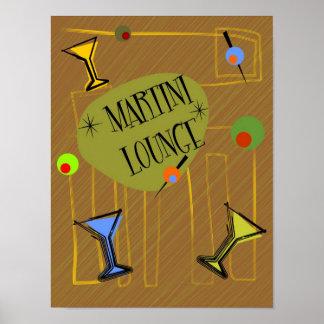 Martini Lounge Print