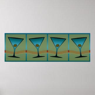 Martinis 25 poster