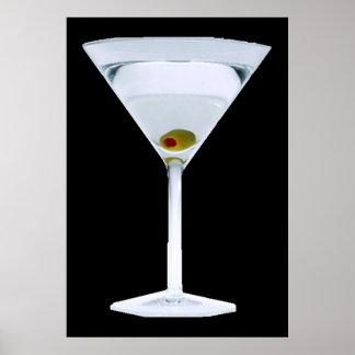 Martinis POSTER Print