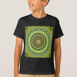 Marty Kaleidoscope Vintage Greens T-Shirt