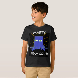 Marty The Squid Kid's T_Shirt T-Shirt