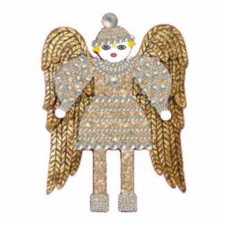 Martzkin Angel Ornament Photo Sculpture Decoration