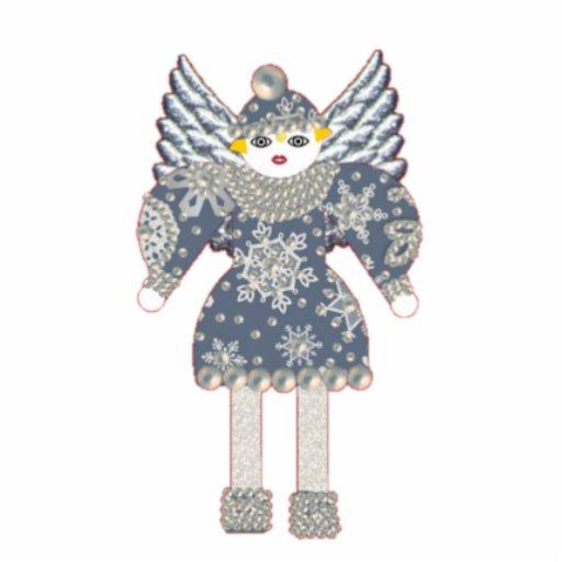 Martzkin Angel Ornament Photo Cut Outs
