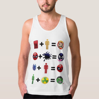 Marvel Emoji Character Equations Singlet