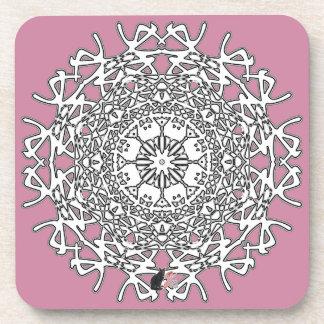 Marvelous Octa Glyph Dawn Coaster