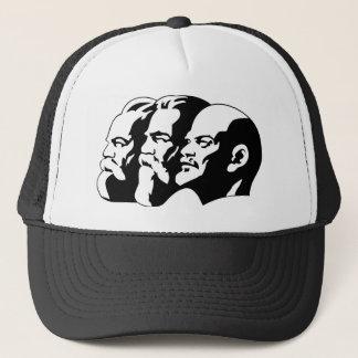 Marx, Engels and Lénin Trucker Hat