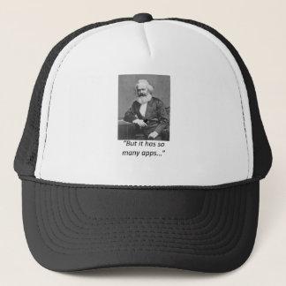 Marx Smartphone Apps Tee Trucker Hat