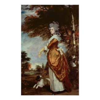 Mary Amelia, 1st Marchioness of Salisbury Poster