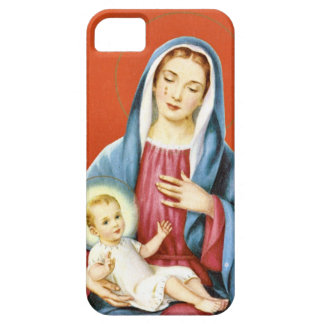 Mary and Jesus iPhone 5 Cover