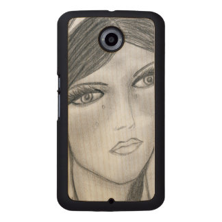 Mary Crying Wood Phone Case