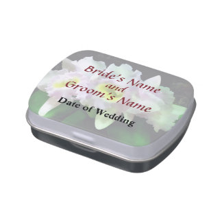 Mary Ellen Underwood Krull-Smith Wedding Products Jelly Belly Candy Tin