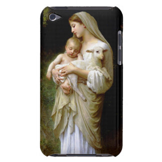 Mary, Jesus, and a Lamb Barely There iPod Cover
