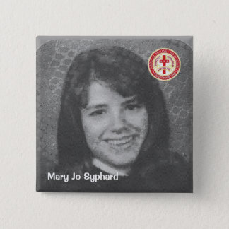 Mary Jo Syphard 15 Cm Square Badge
