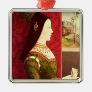 Mary of Burgundy  daughter of Charles the Bold Christmas Ornament
