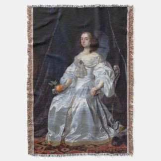Mary, Princess of Orange Throw Blanket