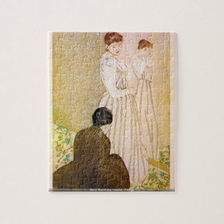 Mary Stevenson Cassatt - Fitting puzzle