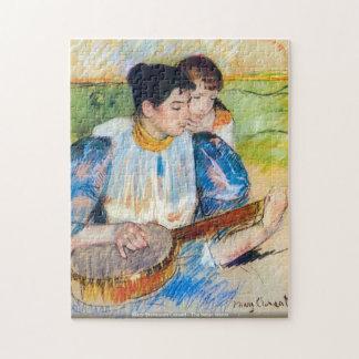 Mary Stevenson Cassatt - The banjo lesson -ArtPuzz Jigsaw Puzzle