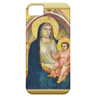 Mary with the child Jesus iPhone 5 Cover
