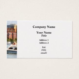 Maryland - Cabin Cruiser by Baltimore Skyline Business Card
