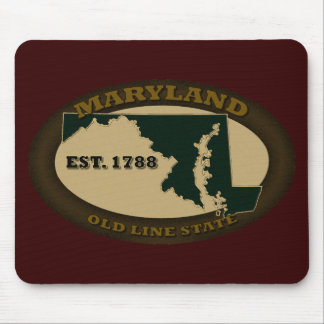 Maryland Est. 1788 Mouse Pad