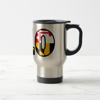 Maryland Flag - 410 Travel Mug