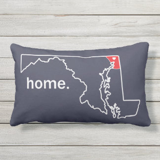 Maryland Home County pillow - Cecil co.