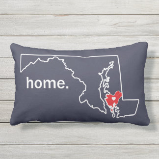 Maryland Home County pillow - Dorchester co.