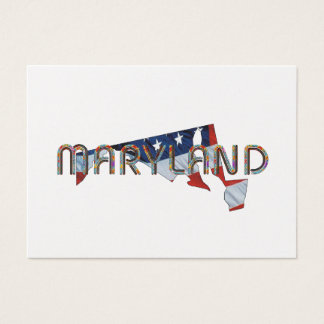 Maryland Patriot Business Card