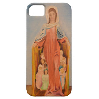 Mary's Protection iPhone case