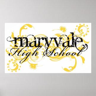 Maryvale High School Poster Phoenix,AZ