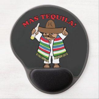 Mas Tequila! Gel Mouse Pad
