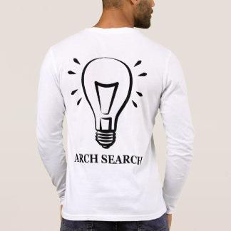 Masculine t-shirt Henley Long Arch Search