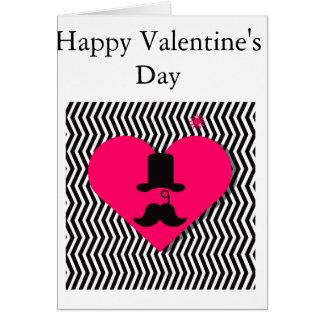 Masculine Valentine's Day Card