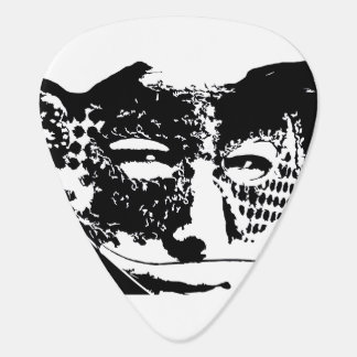 Mask Guitar Pick