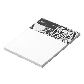 Masked Girl Notepad