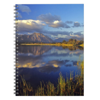 Maskinonge Lake in Waterton Lakes National Park 3 Spiral Notebook
