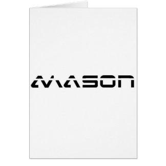 MASON CARD