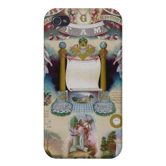 Masonic Art III Cases For iPhone 4