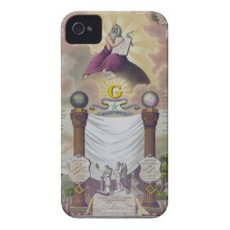 Masonic Imagery iPhone 4 Case-Mate Cases